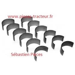 kit coussinets de palier A4.318 perkins pour tracteur massey ferguson
