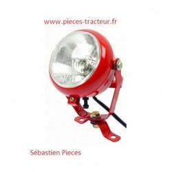 phare de travail rouge pour tracteur