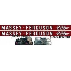 kit autocolant massey ferguson 825