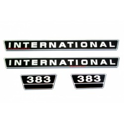 Kit autocollant pour tracteur IH International 383