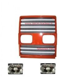 calandre pour tracteur Fiatagri serie 90 avec phare