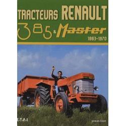 livre tracteur renault 385 et master D