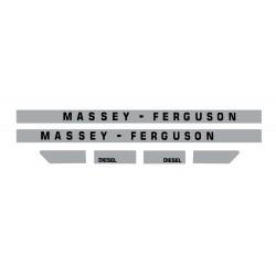 kit autocolant pour tracteur Massey Ferguson 1080