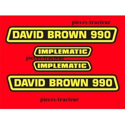 kit autocolant david brown