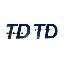 kit autrcolant TD soméca , fiat