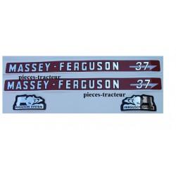 kit autocolant massey ferguson 37