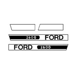 kit autocolant ford 2600
